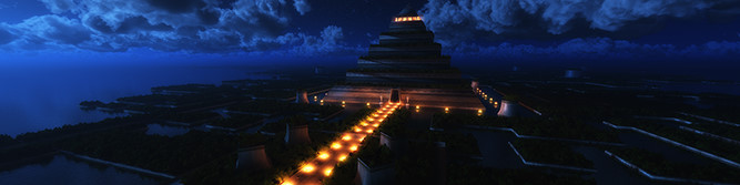 Temple of the Leaf (Night)