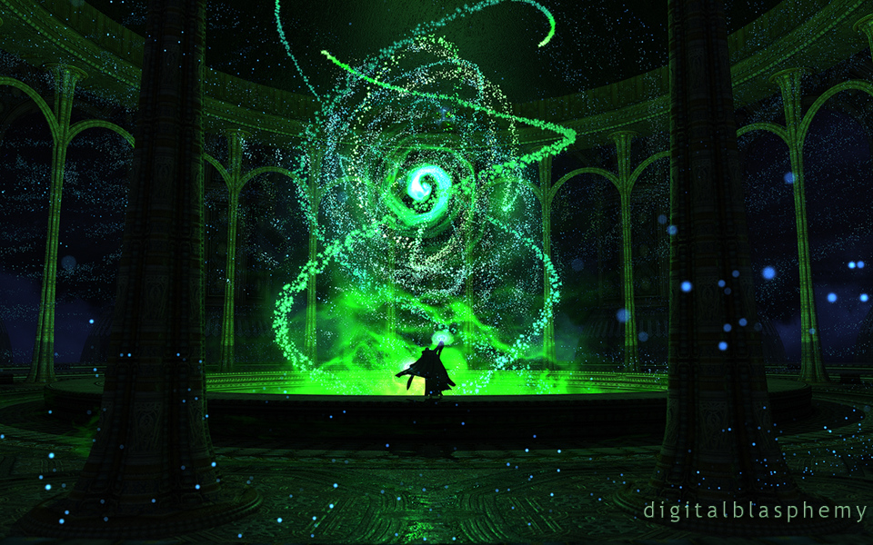 Digital Blasphemy 3d Wallpaper Widescreen Dual Screen ...
