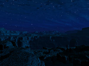 Rift Canyon Night