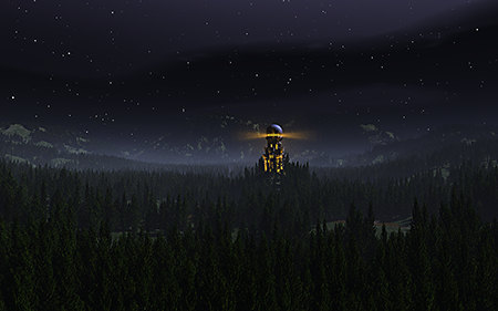 The Watchtower (Night)